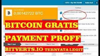BITCOIN GRATIS TANPA DEPOSIT CUMA LIHAT IKLAN DAN VIDEO (PAYMENT PROFF BITVERTS.IO)