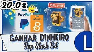 Saiu! Novo App Para GANHAR DINHEIRO Com Bitcoin +Revisão Paypal