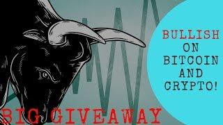 BULLISH on Bitcoin and Crypto + BIG GIVEAWAY - Today's Crypto News