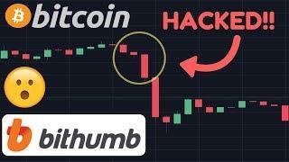 Bithumb HACKED! Bitcoin Drops! [Bitcoin Today]