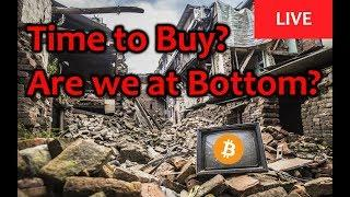 LIVE: Time to Buy? Are we at Bottom? [Daily Bitcoin and Cryptocurrency News]