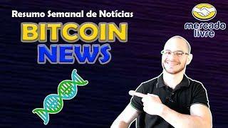 ???? Atlas na Justiça, Bitcoin no DNA, Mercado Live e mais! Resumo de Notícias Bitcoin News 2018