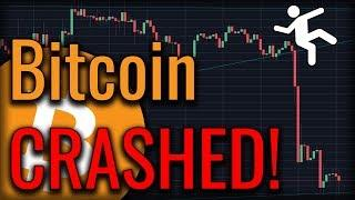 Bitcoin Fell Off A Cliff! Will Bitcoin Get Support?