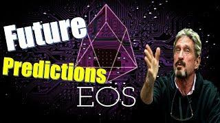 EOS Price Predictions! The Future Looks Bright For Cryptocurrency _  John McAfee