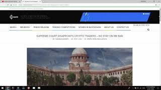 Bitcoin Latest News | Supreme Court Decision on Bitcoin