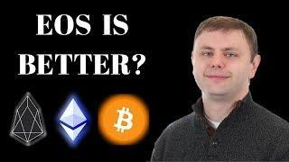 EOS CTO: 'EOS Better Than Bitcoin & Ethereum', Ripple Solution, Bakkt Release