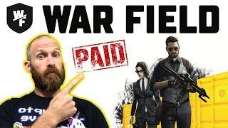 WAR FIELD ICO - Blockchain FPS Game - Honest Paid Review
