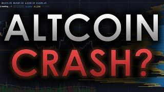 CRAZY BITCOIN MANIPULATION: HUGE ALTCOIN CRASH INCOMING? - BTC/CRYPTOCURRENCY TRADING ANALYSIS