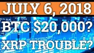 RIPPLE IN TROUBLE? BITCOIN TO $20,000 OR $2k? XRP, NEO PRICE PREDICTION + CRYPTOCURRENCY NEWS 2018