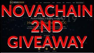 NOVACHAIN GIVEAWAY!! 2ND NOVACHAIN GIVEAWAY & THE WINNER IS....