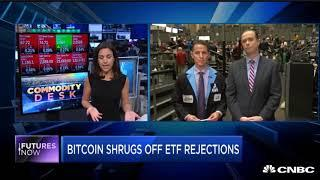 Future's Now | Bitcoin shrugs off ETF rejections | Finance and Crypto