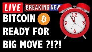 BITCOIN (BTC) + CRYPTO READY FOR BIG MOVE?! CRYPTOCURRENCY ANALYSIS & NEWS