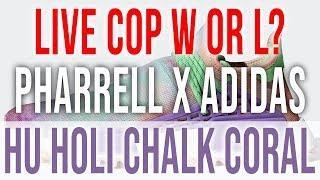 LIVE COP:  PHARRELL WILLIAMS X ADIDAS NMD HU HOLI CHALK CORAL