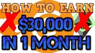 Make $30,000 in 1 month??? Better than Bitconnect! Better than Proof of Weak Hands!
