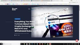 Okex Exchange Big problem ? ???? Do not deposit Bitcoin ???????? everyone TCC Users watching this vi