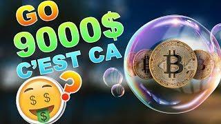 BITCOIN GO 9000$ C'EST CA !!!? analyse technique crypto monnaie btc