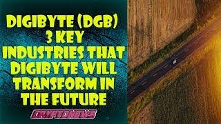 Digibyte (DGB) – 3 key industries that Digibyte will transform in the future