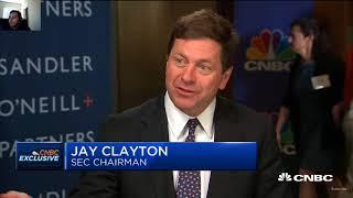 SEC chair on Cryptocurrency / Bitcoin ETF  | CNBC Fast Money