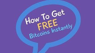 How To Get FREE Bitcoins WITHOUT Mining - Bitcoin Generator 2018 VIDEO GUIDE