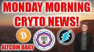 Monday Morning Cryptocurrency News!!!! --CFTC, Kurt Russell, Bitcoin Modern Miracle