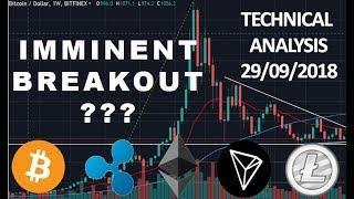 Bitcoin Ethereum Ripple XVG LTC TRX - Technical Analysis 01/10/18
