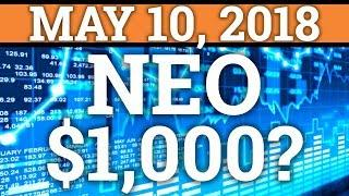 NEO TO $1000? ONTOLOGY ONT TO $100? CRYPTOCURRENCY COIN PRICE PREDICTION 2018 (NEWS + REVIEW)