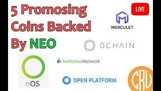 LIVE Crypto AMA: 5 Promising Cryptos Backed By NEO
