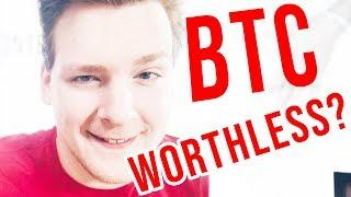 Bitcoin Completely WORTHLESS? Programmer explains.