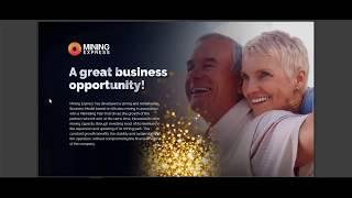 Mining express marketing plan, compensation plan  - how much you can earn