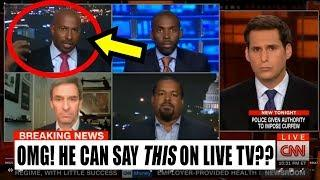 Classic! Watch LEFTIST Media Hypocritically Promote RACISM on LIVE TV!!