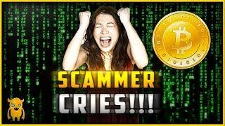 Bitcoin Scammer Breaks Down Crying on the Phone (Shocking)