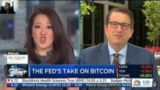 The Federal Reserve Talks about Bitcoin / Cryptocurrency!  | CNBC Fast Money