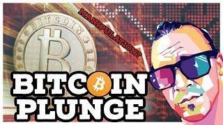 BITCOIN $PRICE$ PLUNGE?! ( market manipulation 2018?)