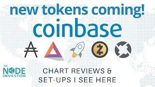 New Coinbase Tokens Coming!  | Plus Bitcoin Technical Analysis Update