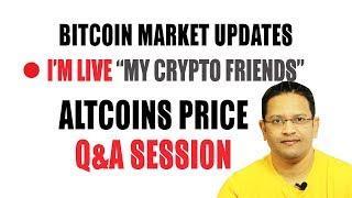 Bitcoin & Altcoins Market Updates. Why Bitcoin is Crashing? Bitcoin Price Prediction. BULL VS BEAR