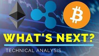 Ethereum (ETH), Ripple (XRP), Bitcoin (BTC), WHAT'S NEXT? - Technical Analysis