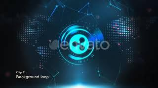Cryptocurrency Background - Ripple(XRP)  - After Effects Templates Project Files [Video Hive 2018]
