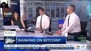 Stop Gambling with Cryptocurrency / Bitcoin!!!  | CNBC Fast Money