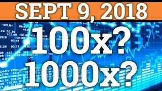 CAN YOU STILL MAKE 100x OR 1000x IN CRYPTOCURRENCY? BITCOIN BTC, RIPPLE XRP TRADING + NEWS 2018