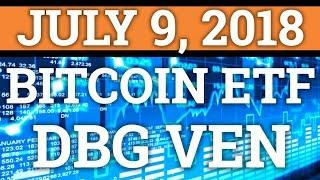 BITCOIN ETF WILL MAKE CRYPTOCURRENCY MOON? VECHAIN VEN, DIGIBYTE DGB PRICE PREDICTION + NEWS 2018