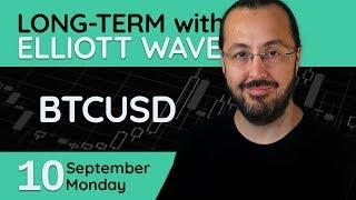 BTCUSD (Bitcoin) Long-Term Wave Analysis (10 September 2018)