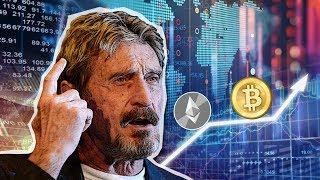 John McAfee talks about Bitcoin and Ethereum
