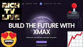 XMAX - Blockchain Ecosystem and Developer SDK for the Video Game and Entertainment Industry