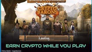 """CRYPTO BARONS"": Earn Crypto While You Play (Video Game)"