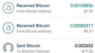 Unlimited FREE Bitcoin income Site 5$ Daily With Firebtc Withdraw Payment Proof