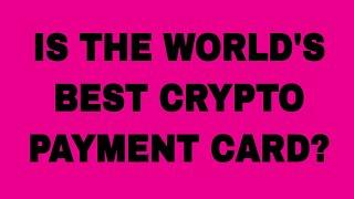 New Cryptocurrency Visa Payment Card!!!