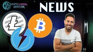 BITCOIN AND LITECOIN NEWS