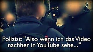 Polizei verbietet Veröffentlichung auf YouTube | Chemnitz-Demo