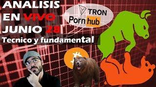 Binance abre EXCHANGE fiat! Futuros BTC? Tron Y PornHub confirmnado Analisis Bitcoin Criptomonedas