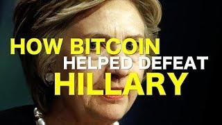 Bitcoin Helped Defeat Hillary - News Headlines
